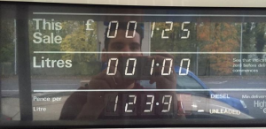 Alleged Facebook petrol price scam - screencapture from Facebook