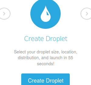 DigitalOcean Create Droplet [aff link]