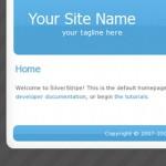 silverstripe default homepage