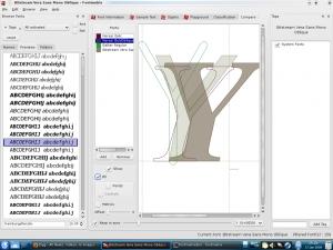 font glyph comparison
